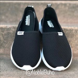 Adidas Lite Racer Slip-On - Core Black 9 NEW